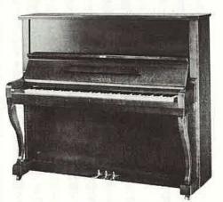 楽器の事典ピアノ 第6章 日本の主要ブランド一覧  8 シュベスター